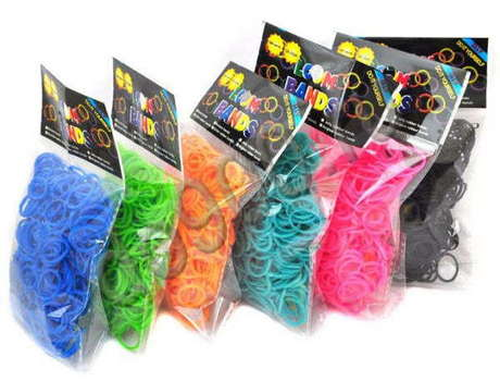 Резинки для плетения браслетов (600шт)