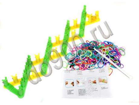 Разборный станок для плетения резинок
