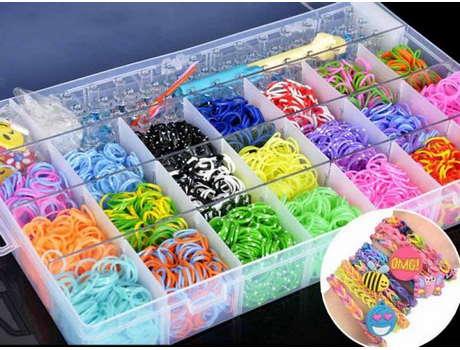 Большой набор резинок для плетения браслетов