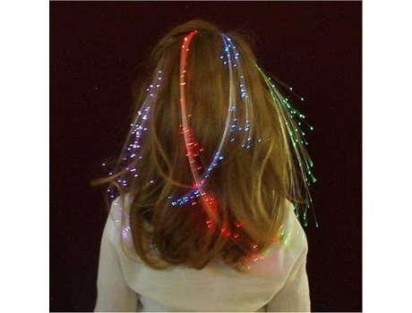 Заколка - Светящиеся волосы