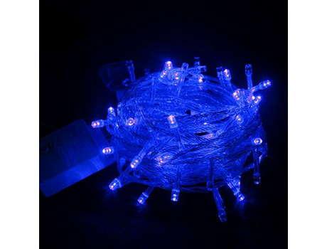 Синяя гирлянда
