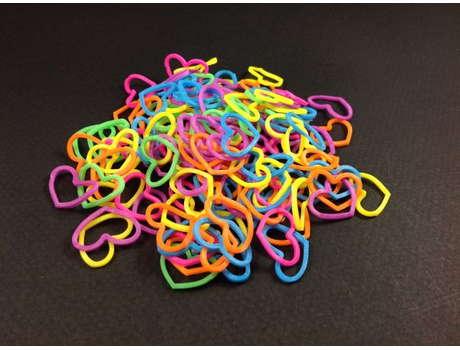 Резинки для плетения браслетов Фигурки (600шт)