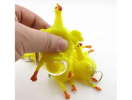 Лизун курица с яйцом