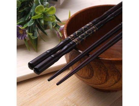 Палочки для еды (коричневые)