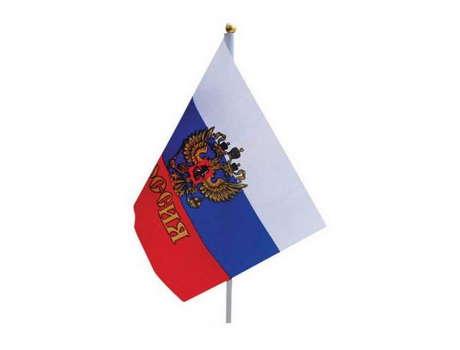 Флаг Россия 44х32 см
