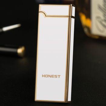 Электроимпульсная, дуговая USB зажигалка Honest