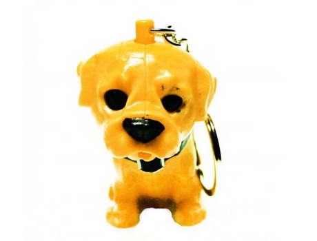 Брелок гавкающая собака