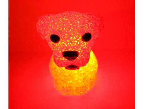 Светящаяся собака
