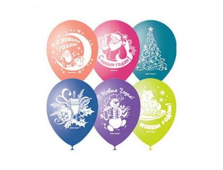 Новогодние воздушные шары