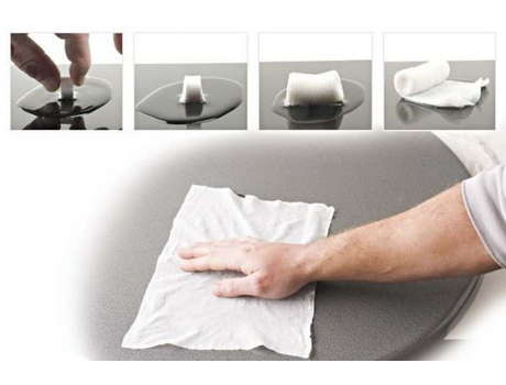 Прессованное полотенце