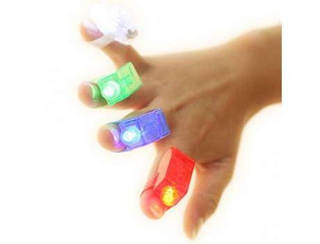 Фонарики на пальцы