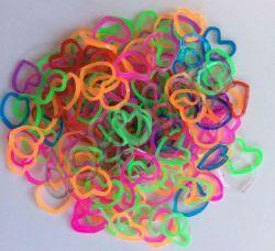 Резинки для плетения браслетов Фигурки (200шт)