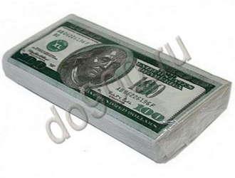 Салфетки 100 долларов