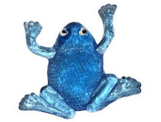 Лизун - липкая лягушка