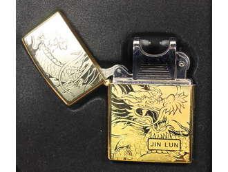 Фото товара Дуговая, электроимпульсная USB зажигалка Jin Lun 4