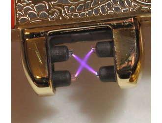 Фото товара Электроимпульсная, 2х дуговая USB зажигалка Орел