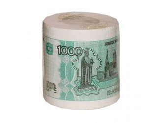 Tуалетная бумага 1000 руб