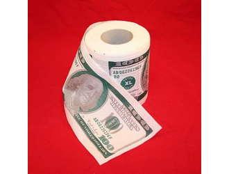 Tуалетная бумага 100 долларов
