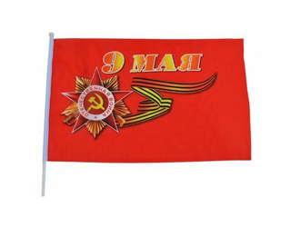 Флаг 9 Мая 88х64 см