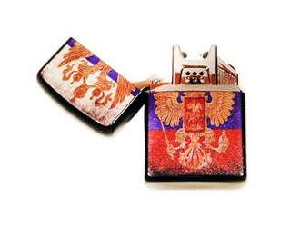 Электроимпульсная, дуговая USB зажигалка Россия